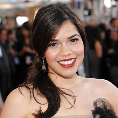 our family wedding america ferrera wedding dress. America Ferrera – InStyle)